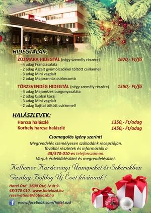Hotel Ózd Tálak minden karácsonyi asztalra #12